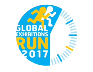Logo global exhibition run