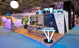 Conception du stand Galis pour le salon Heavent