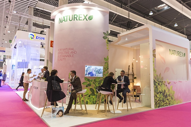 Création du stand Naturex In Cosmetics 2015