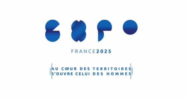 Logo exposition universelle 2025