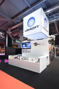 Stand Ubisoft créé par Galis pour Paris Games Week